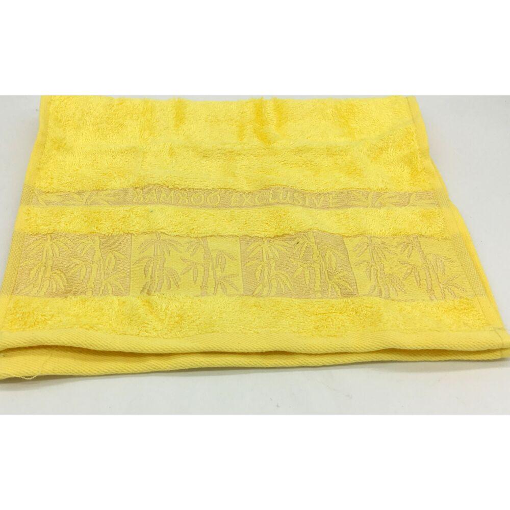 Bambusz szálas 30x50cm hímzett bambusz mintás , 5db-os  1-minta