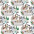 Karácsonyi terítő Alsacia