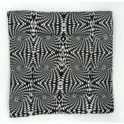Fekete-fehér mintás