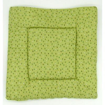 Zöld Szívecskés párna