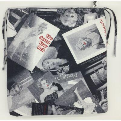 Marilyn kötős ülőpárna 38 x 41 x 5 cm