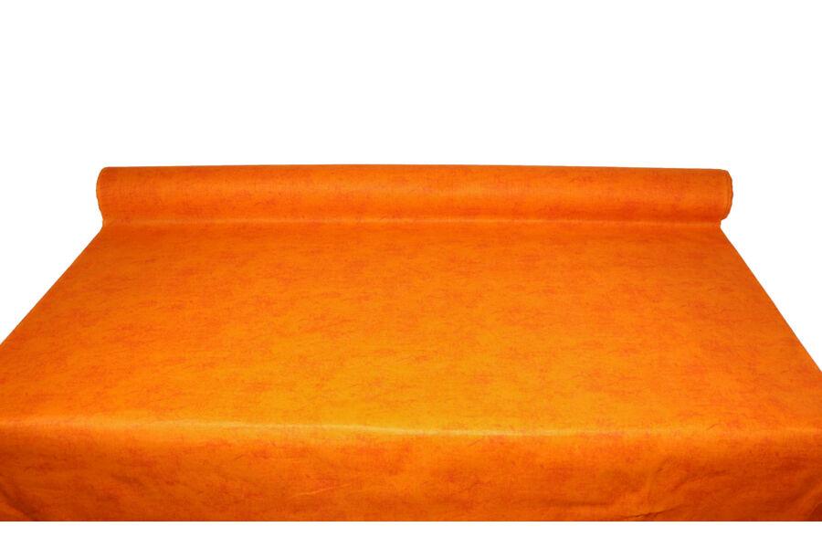 Raszter Narancs mintás pamutpolyester alapanyag