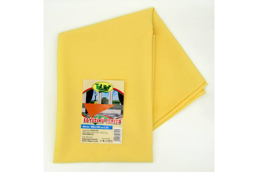 Butter Yellow polyester alapanyag