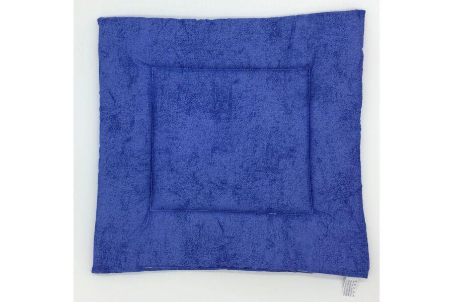 Raszter kék ülőpárna 38x38x2 cm