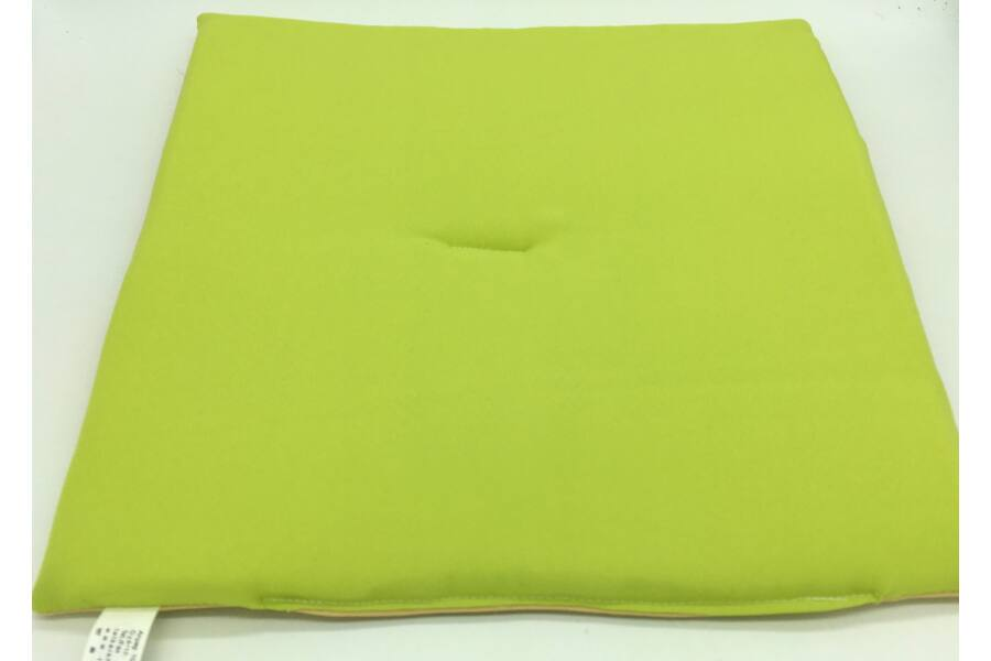 Zöld - Beige kétoldalú ülőpárna