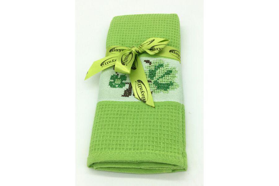 Bayalli konyharuha 45x70 cm  zöld