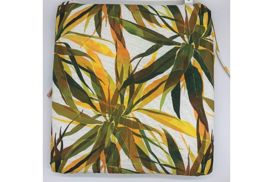 Dzsungel sárga kötős ülőpárna