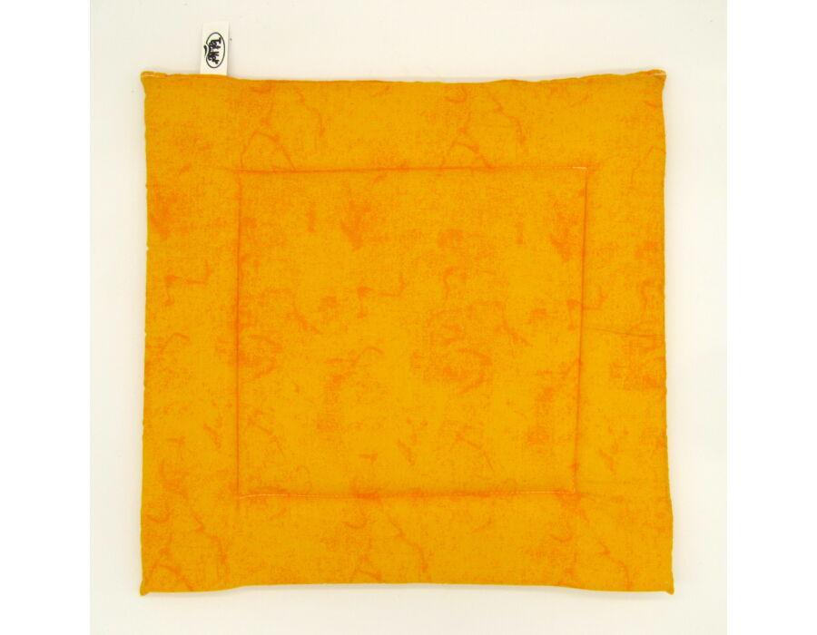 Narancs Pamutpolyester ülőpárna