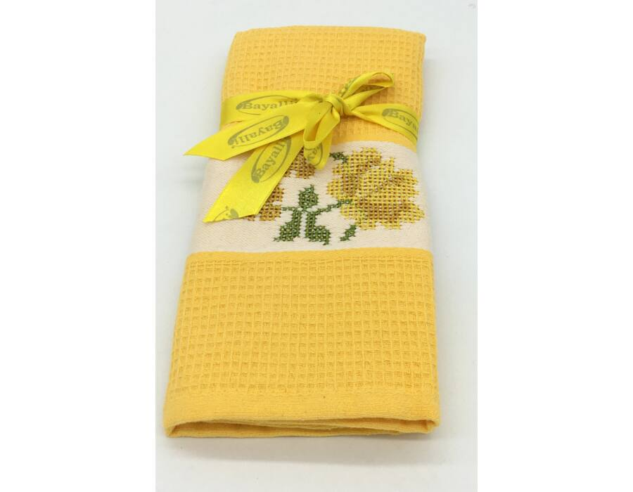 Bayalli konyharuha 45x70 cm  sárga