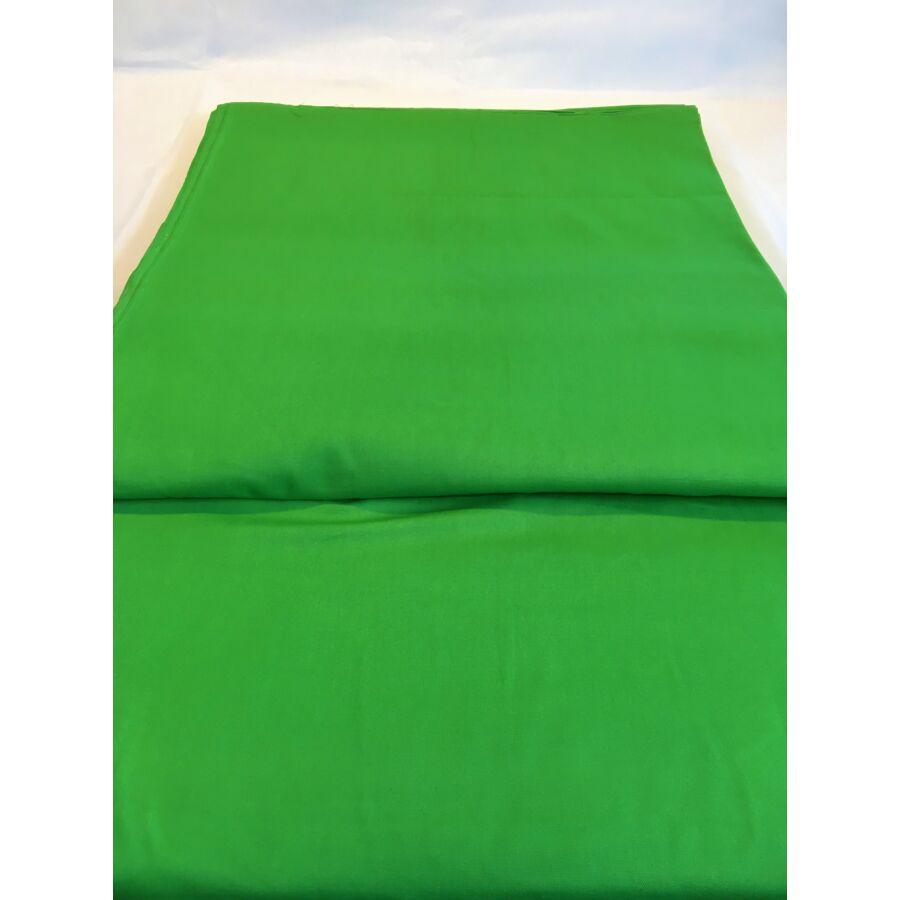 Pamut vászon - Egyszínű Zöld