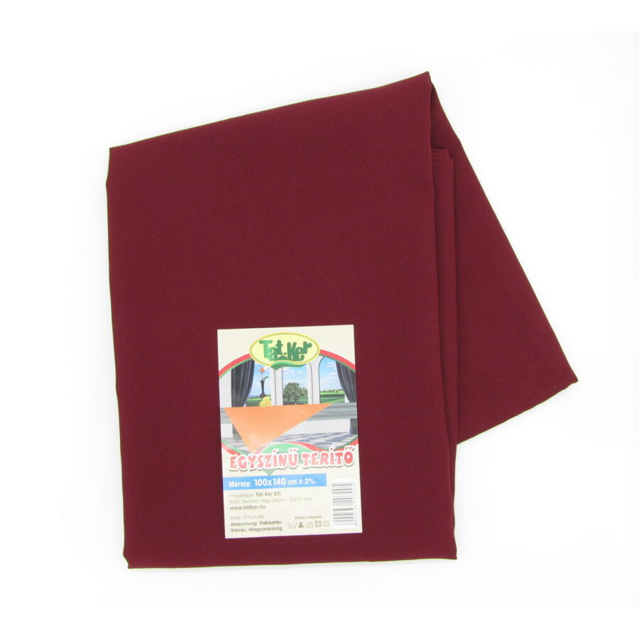 Wine Red polyester alapanyag