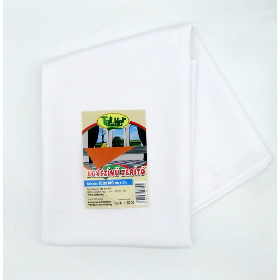 White polyester alapanyag