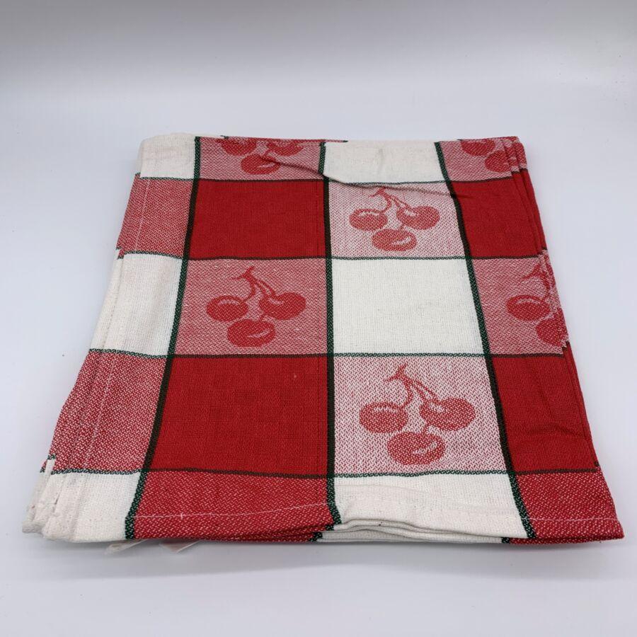 Konyharuha csomag  50x70 cm , CHERRY  Piros